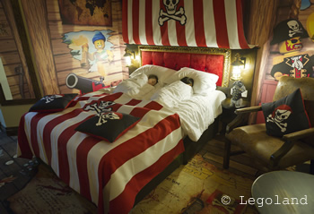 Legoland Windsor Resort Hotel - Premium Pirate Room