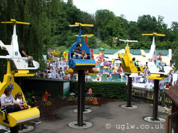 Duplo Valley Airport ride at Legoland Windsor