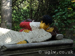 Fairy Tale Brook ride at Legoland Windsor - Sleeping Beauty is kissed by her prince! Hoorah!