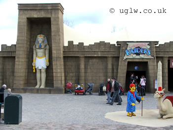 Laser Raiders at Legoland Windsor - entrance