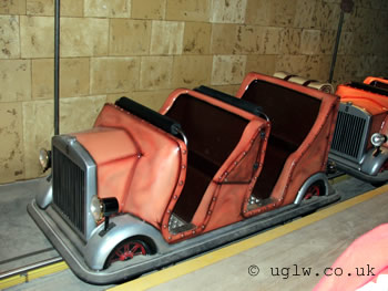 Laser Raiders at Legoland Windsor - your buggy awaits