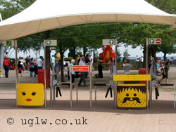 Legoland Windsor entrance gates