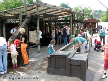Pirate Goldwash at Legoland Windsor