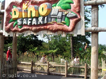 Dino Safari ride at Legoland Windsor