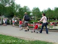 A young family at Legoland Windsor