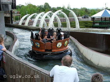 Vikings' River Splash at Legoland Windsor