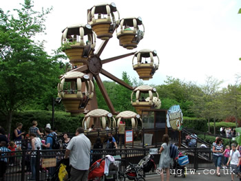 Aero Nomad ride at Legoland Windsor