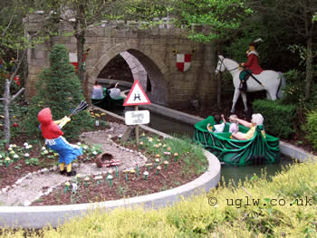 Fairy Tale Brook ride at Legoland Windsor